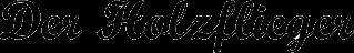 Der Holzflieger-Logo